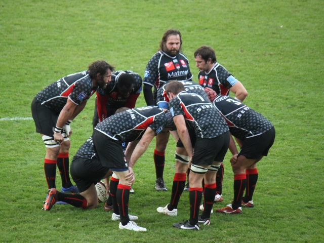 Le LOU Rugby l'emporte face à Mont-de-Marsan (21-14)
