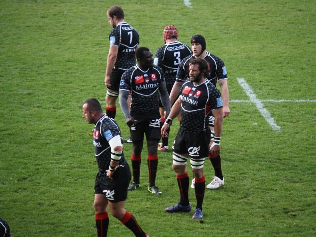 Match amical du LOU Rugby à Perpignan