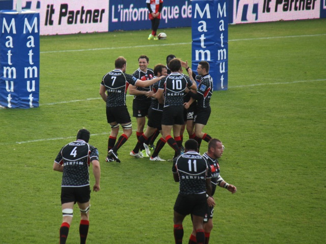 Le LOU Rugby a eu chaud mais l'emporte face à Bourg-en-Bresse (27-24)