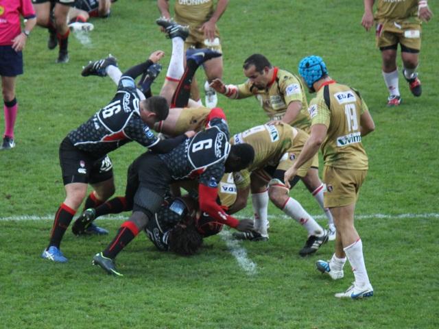 Le LOU Rugby n'a pas tenu le coup face à Oyonnax (31-33)