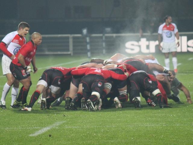 Le LOU Rugby mouillé par la pluie d'Aurillac (19-16)