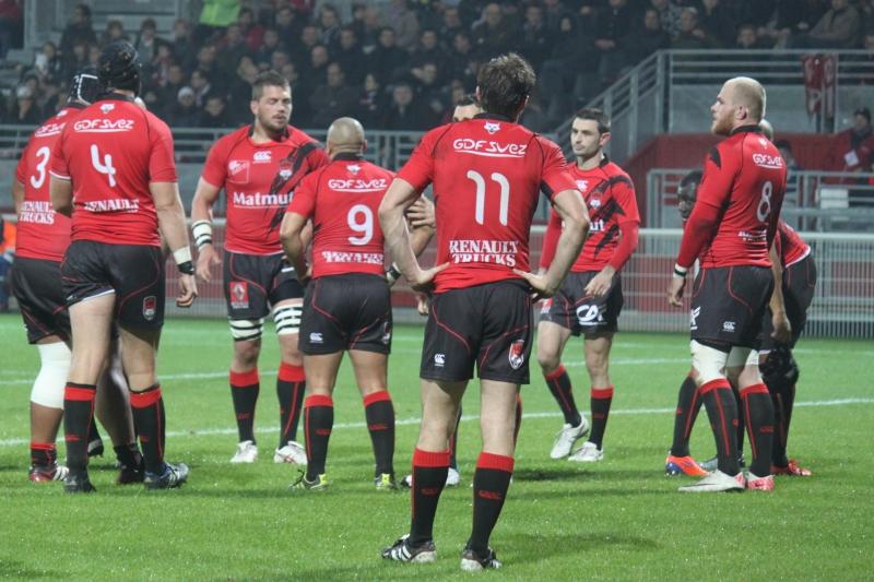Le LOU rugby s'enfonce un peu plus face à Carcassonne