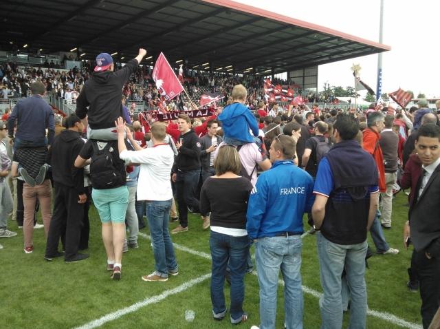 Le LOU Rubgy remonte en Top 14 et devient champion de France de Pro D2