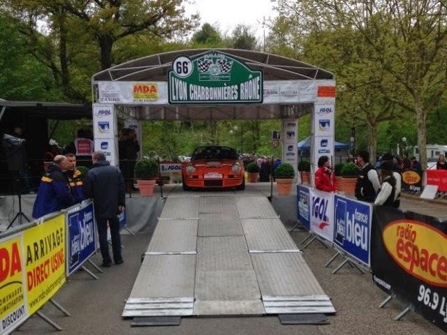 David Salanon remporte le rallye Lyon-Charbo