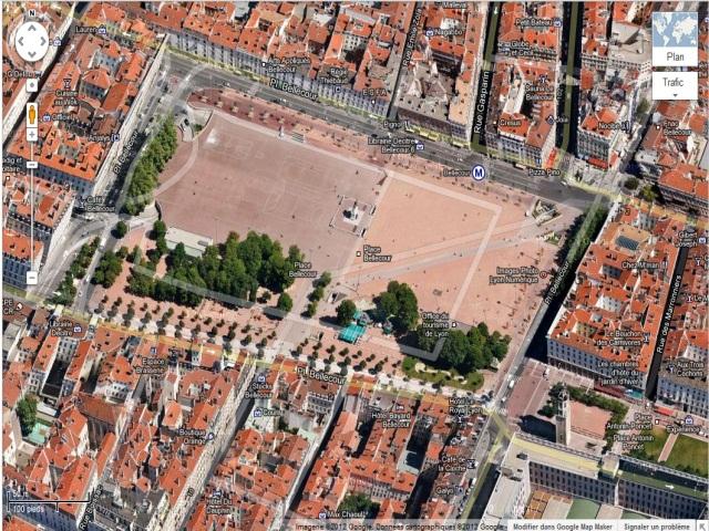 Lyon fait sa mue HD sur Google Maps