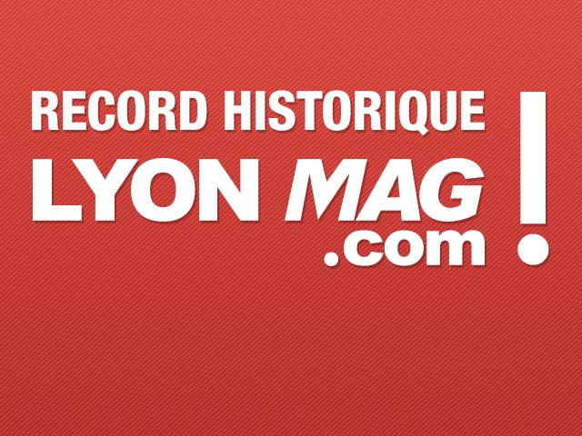 Record : près de 100 000 visiteurs uniques enregistrés sur LyonMag.com lundi !