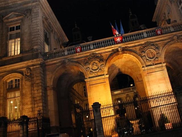 Lyon élue ville nocturne française 2015