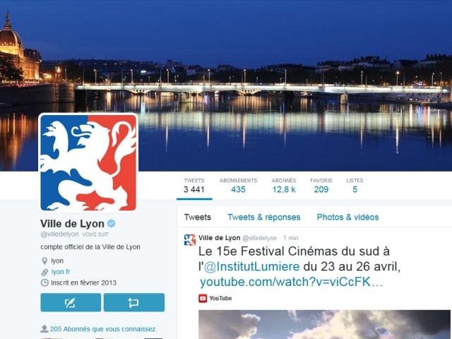 Rayonnement numérique des villes françaises : Lyon 2e du top 50