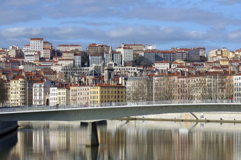 Le printemps au mois de janvier à Lyon