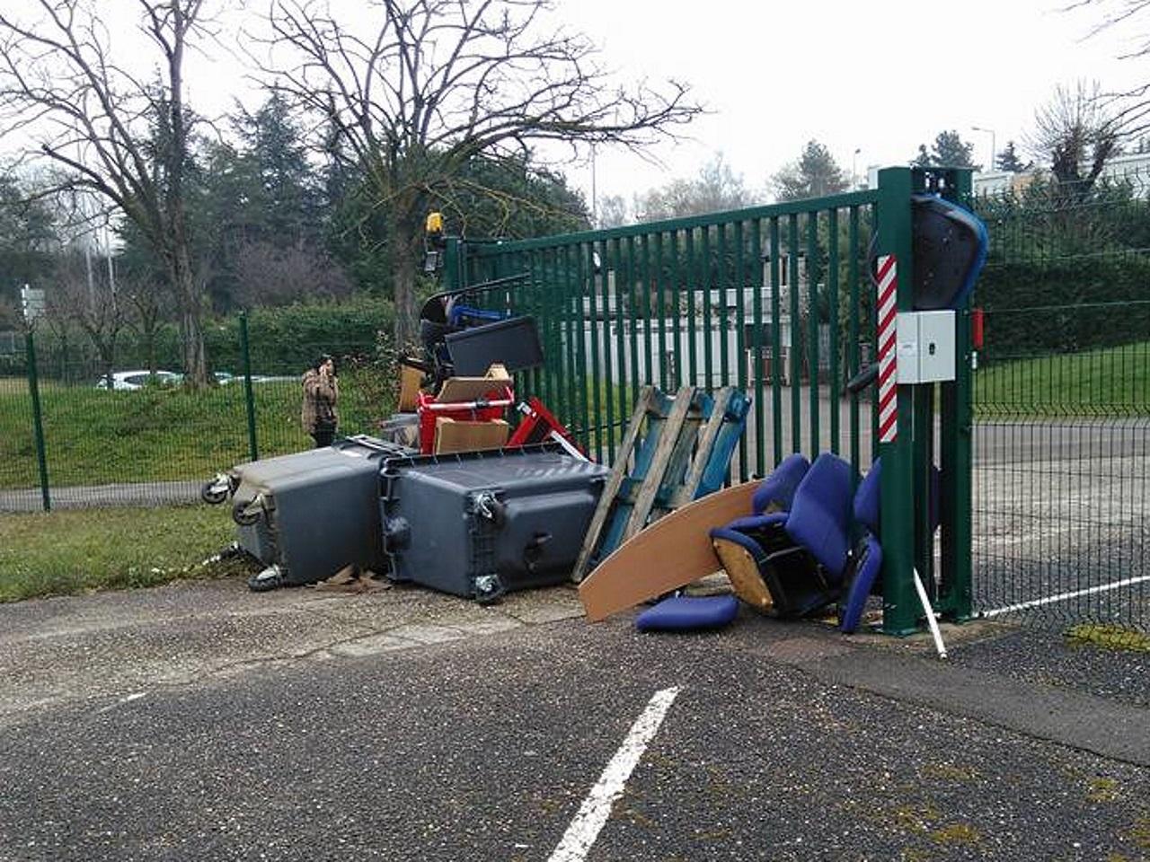 Le campus Porte des Alpes de Lyon 2 bloqué ce jeudi - DR