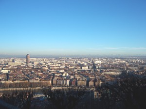 Lyon, vu de Fourvière - LyonMag