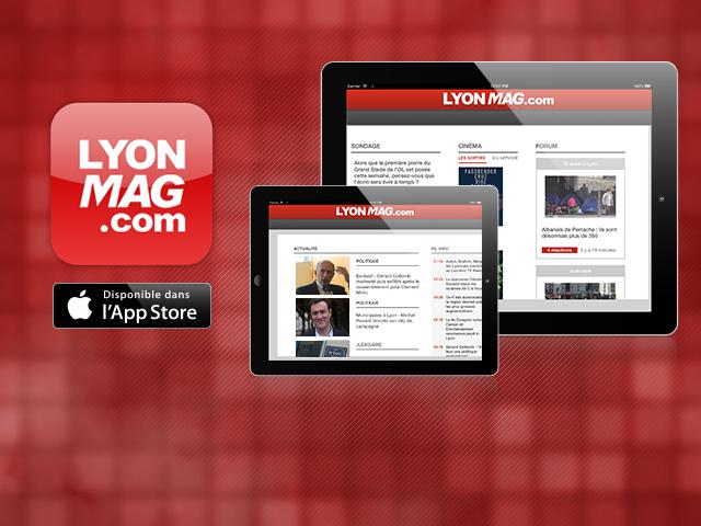 Retrouvez désormais LyonMag sur iPad !