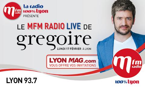Gagnez vos places pour le concert privé de Grégoire à la Comédie Odéon à Lyon le 17 février ! (votes clos)
