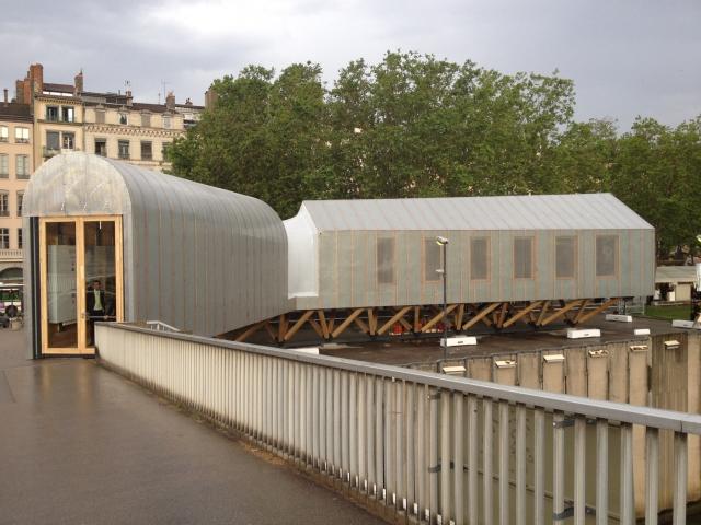 La Maison Du Projet Rives De Sa Ne Fera L Unanimit Lyon