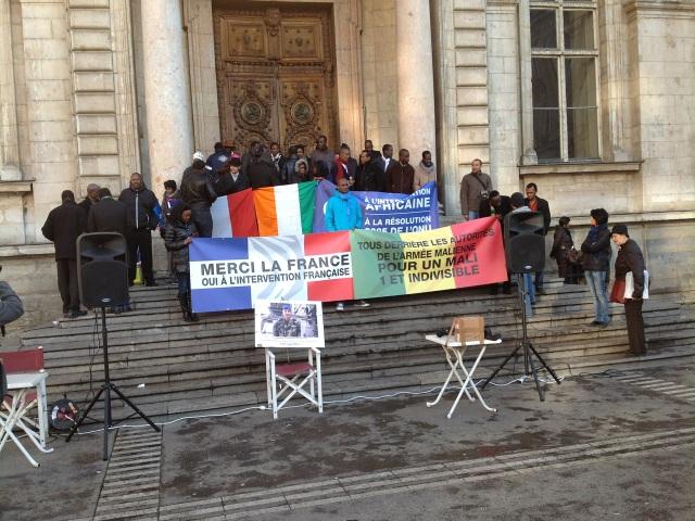 Les Maliens de Rhône-Alpes remercient la France