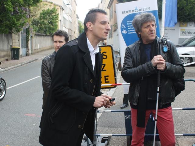 Lyon : un dispositif testé pour sécuriser les chantiers pour les handicapés