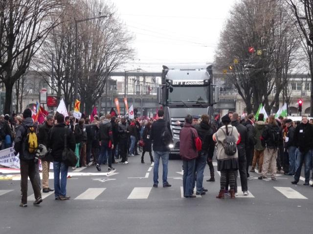 Manifestation très surveillée ce samedi contre la tenue du congrès du FN à Lyon