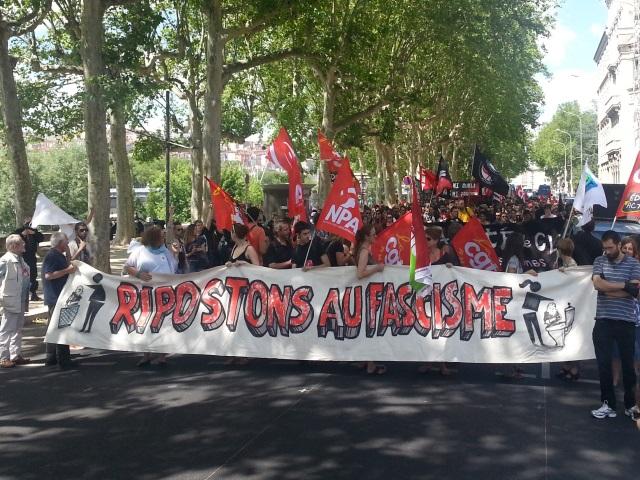 Après les Européennes, une manifestation anti-FN ce jeudi à Lyon