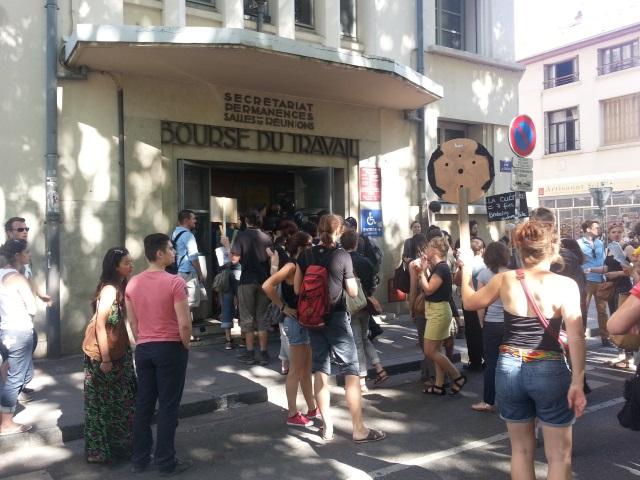 350 intermittents du spectacle manifestent à Lyon