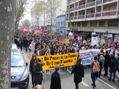 Lyon : les opposants à la loi Travail redescendent dans la rue ce mardi