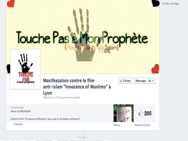 """Une manifestation """"pacifiste"""" contre le film anti-islam en préparation à Lyon"""