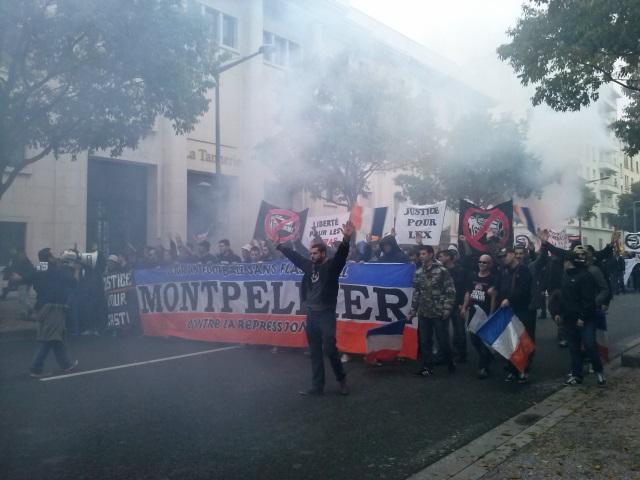 Un millier de supporters manifestent à Lyon contre l'utilisation du flash-ball