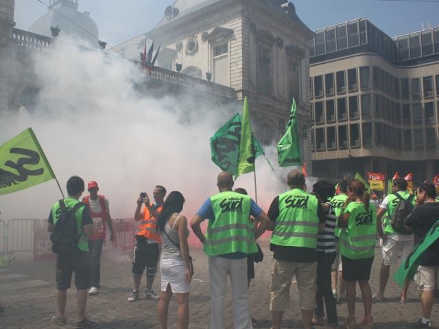 SNCF : la grève reconduite, 150 cheminots manifestent à Lyon