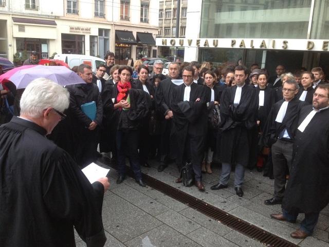 Les avocats du Barreau de Lyon en grève ce jeudi
