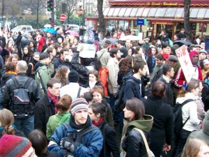 Lyon : un rassemblement pour les autorisations de séjour des étudiants étrangers