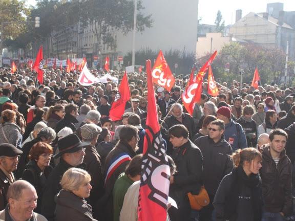 Les buralistes manifestent à Lyon ce jeudi