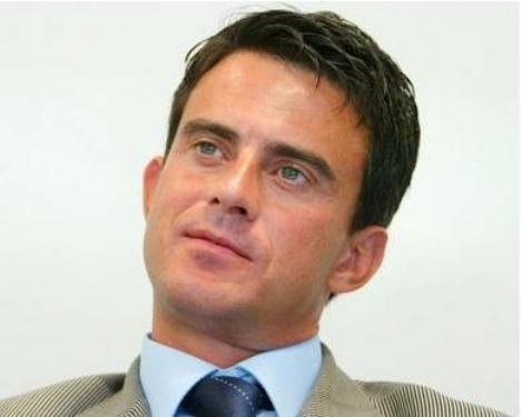 Manuel Valls de passage à Saint-Cyr au-Mont-d'Or lundi matin