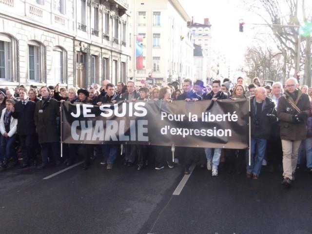 La marche républicaine de Lyon - LyonMag