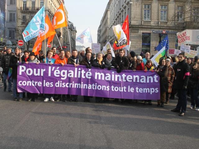 Lyon : entre 12 000 et 20 000 manifestants pour le mariage pour tous