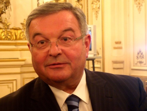 Michel Mercier présent lors de la réunion de sécurité en France