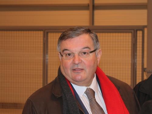 Le président du Conseil Général Michel Mercier soutient Nicolas Sarkozy
