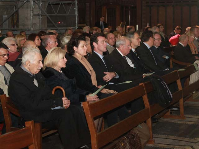 La messe en mémoire du Général de Gaulle rassemble la droite lyonnaise