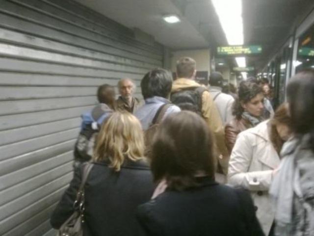 Un colis suspect sur la ligne B du métro, la station Part-Dieu évacuée (Màj)