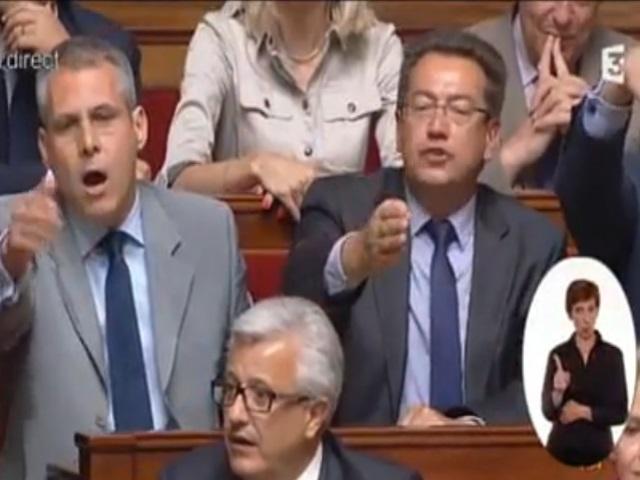 14 juillet : Philippe Meunier fait pleurer Cécile Duflot à l'Assemblée - VIDEO