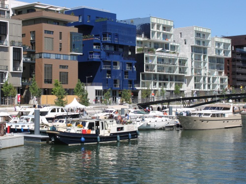 La halte fluviale de la Confluence - Photo LyonMag