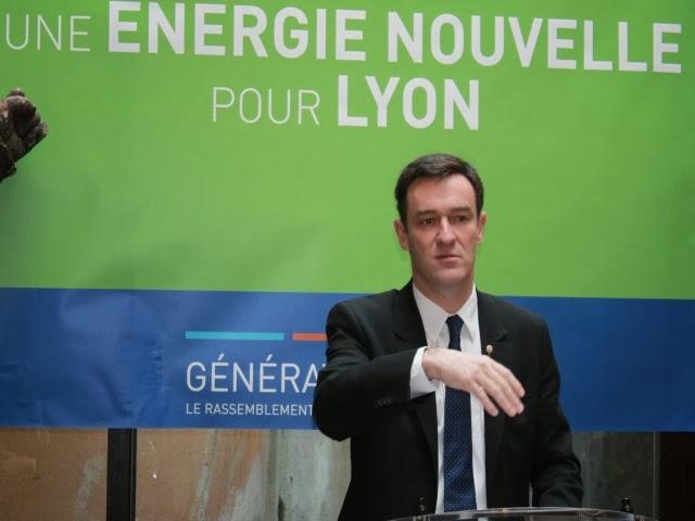 Municipales à Lyon : dernier grand meeting pour Michel Havard à la Cité Internationale