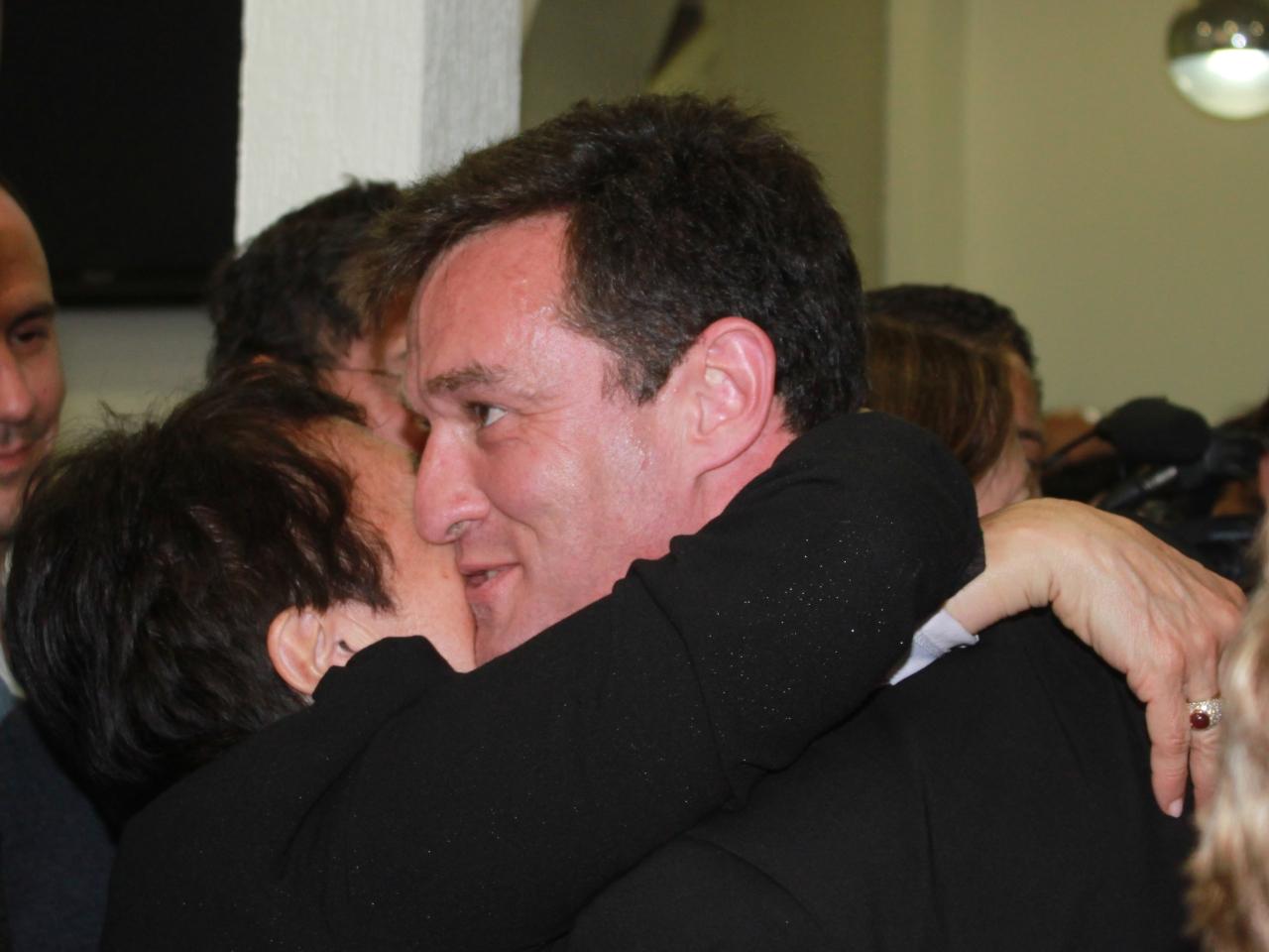 Michel Havard le soir du second tour de la primaire - LyonMag