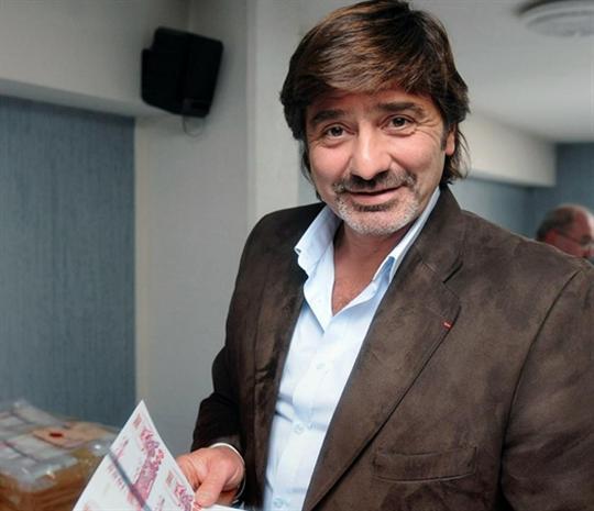 Michel Neyret en visioconférence à la cour d'assises de Saint-Etienne