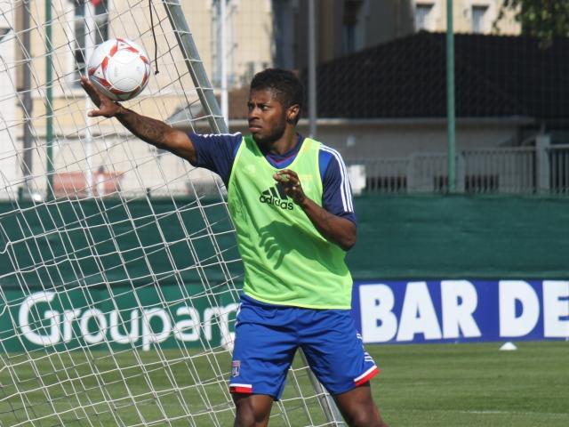 Michel Bastos, à l'entrainement - Photo Lyonmag.com