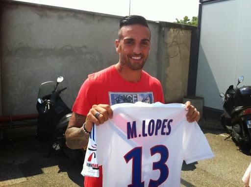 """Miguel Lopes : """"Jouer 200 matches avec l'OL, je prends tout de suite"""""""