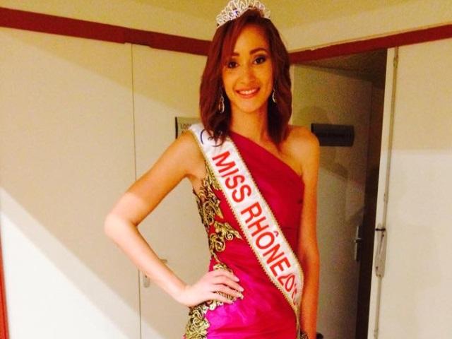 Laurie Cayol élue Miss Rhône 2015