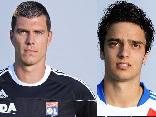 Grosse altercation entre deux joueurs de l'OL lors du match à Nicosie