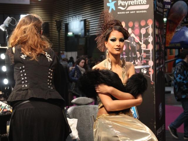 Les métiers autour du maquillage étaient présents - LyonMag.com