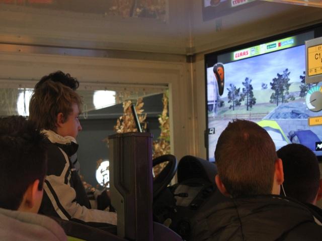 Le simulateur de conduite de tracteur - LyonMag.com