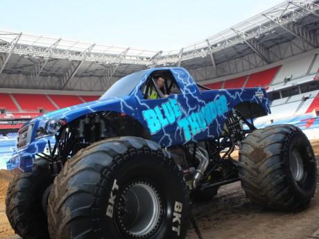 La deuxième édition du Monster Jam programmée en juin au Groupama Stadium