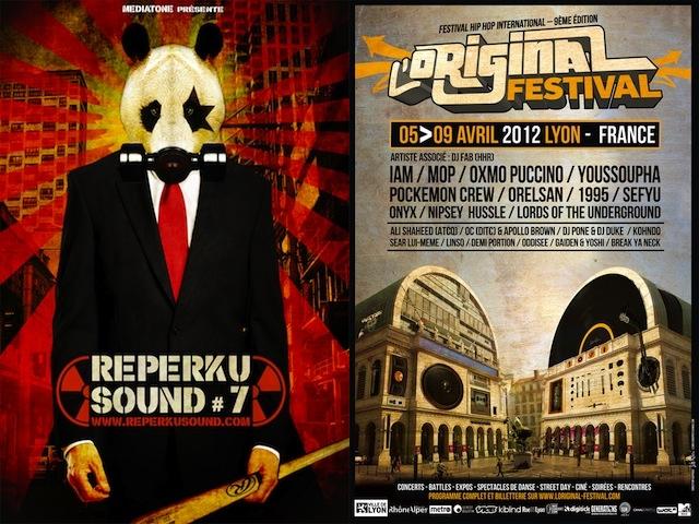 Reperkusound vs l'Original Festival : choisir ou faire les deux ?